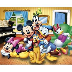 Poster mickey achat vente poster mickey pas cher cdiscount - Mickey mouse et ses amis ...