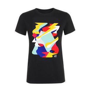 T-SHIRT T-shirt femme affiche noir Printemps de Bourges 20