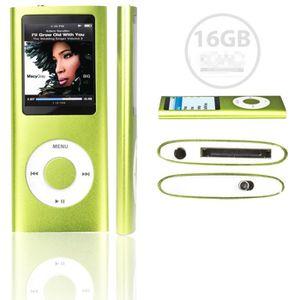 LECTEUR MP4 FOLVO 16GB LECTEUR MP3 MP4 STYLE IPOD 16GO - Vidéo