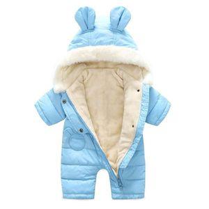 DOUDOUNE Bébé Combinaison De Neige Polaire à Capuche Hiver 4aaff6fa40a