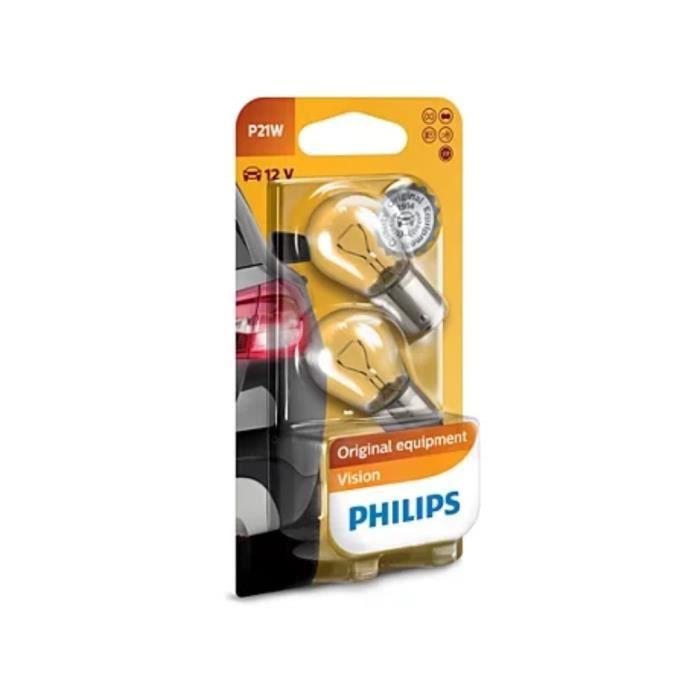 PHILIPS Vision 2 Ampoules pour clignotant P21W