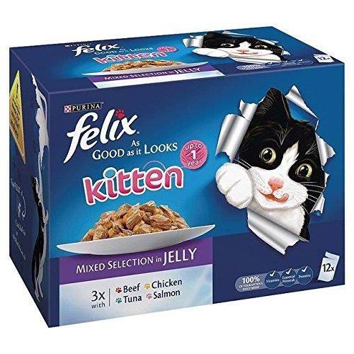 Croquette Pour Chat Felix 12 X 100g (pack De 2)