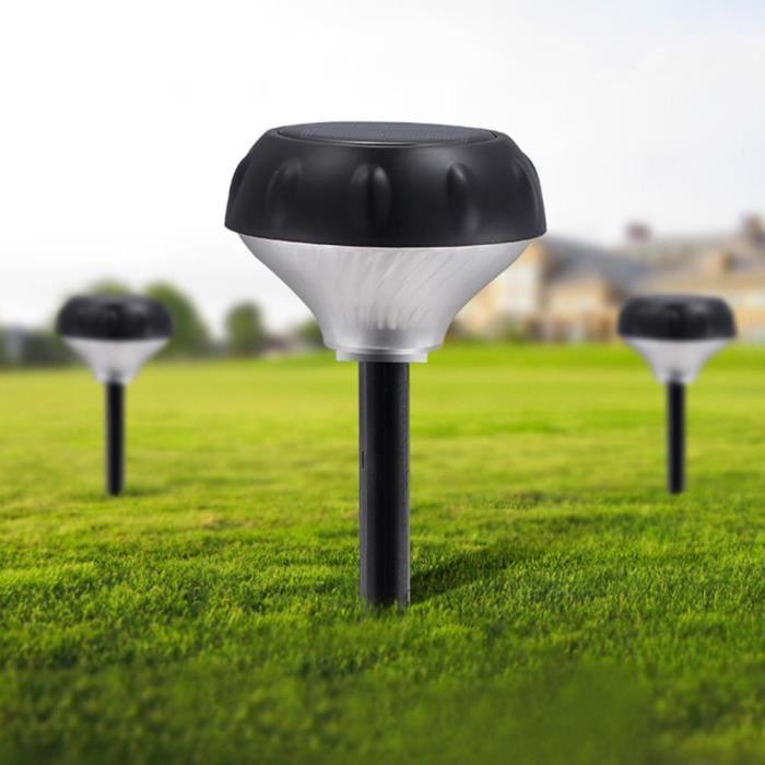 lampe solaire de pelouse jardin d'induction de radar imperméable à l'eau