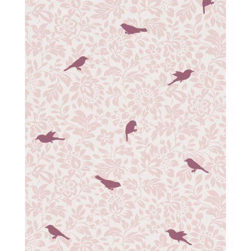 zuhause wohnen 3 papier peint, couleur : rose clair, rose, violet