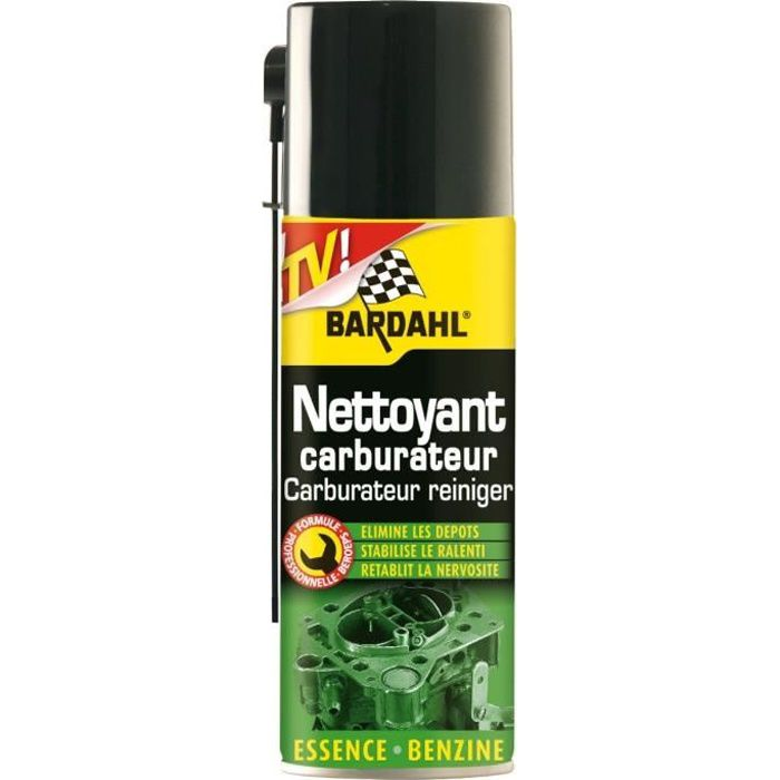 nettoyant carburateur bardahl 400ml achat vente additif nettoyant carburateur 400ml cdiscount. Black Bedroom Furniture Sets. Home Design Ideas