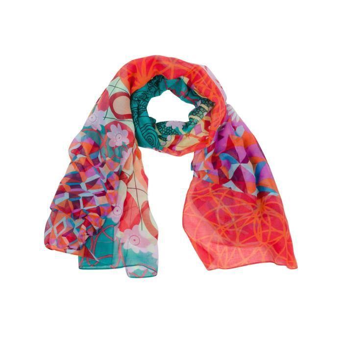 8fa6dada369 FOULARD DESIGUAL ANNELISE 2 - Achat   Vente echarpe - foulard ...