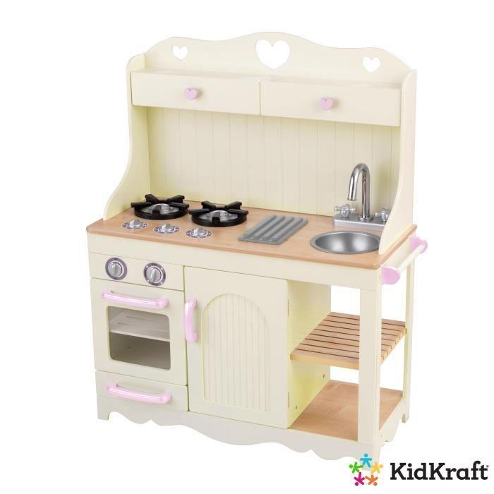 DINETTE - CUISINE KIDKRAFT - Cuisine enfant en bois Prairie