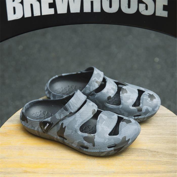 Chaussures de L'eau Homme éLastique Qualité SupéRieure Chaussures Respirant Plus Taille 39-44