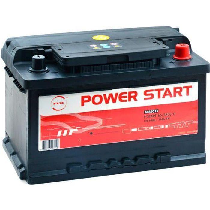 batterie voiture p start 65 580l 0 12v 65ah d batterie. Black Bedroom Furniture Sets. Home Design Ideas