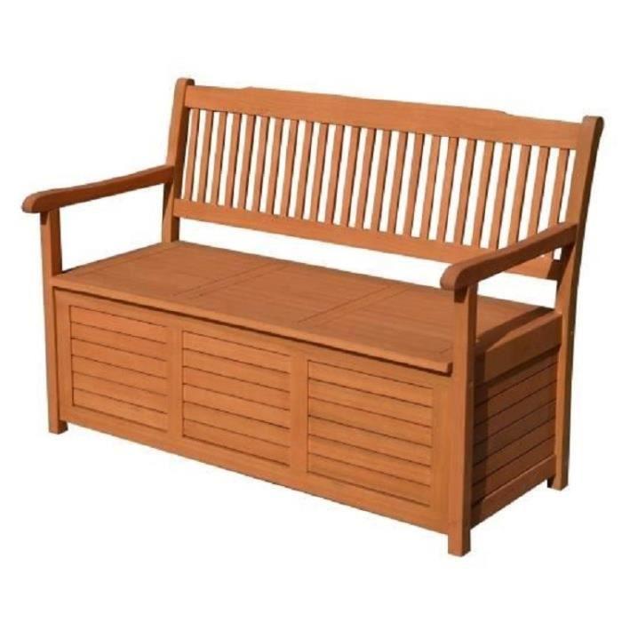 banc avec rangement exterieur achat vente pas cher. Black Bedroom Furniture Sets. Home Design Ideas