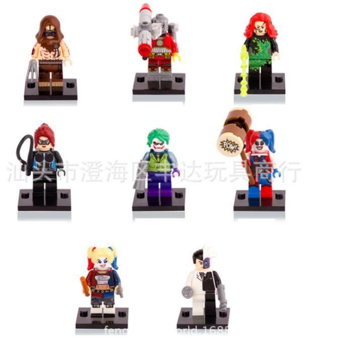 Lot Figurines Squad Queen Joker Séries 8 Villain Suicide De jqA35L4R