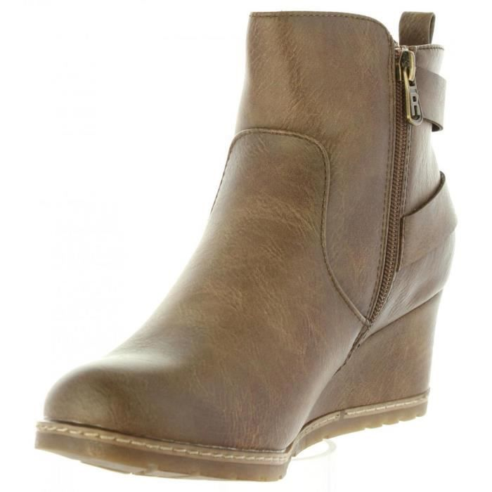 Bottines pour Femme REFRESH 63877 C TAUPE