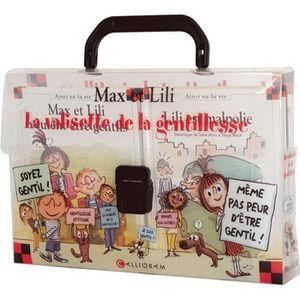 Livre 6-9 ANS La valisette de la gentillesse, Max et Lili