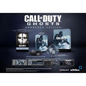 JEU PC Call Of Duty Ghosts Hardened Edition PC