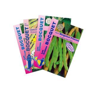 GRAINE - SEMENCE Graine - Semence - Lot de Haricots Verts à Rames (