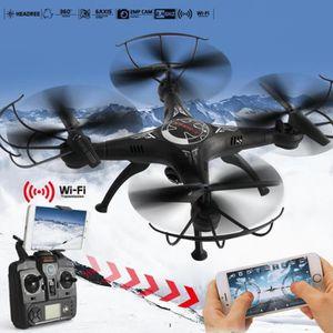 DRONE 2.4G RC Drone Avec Wifi HD caméra FPV Télécommande