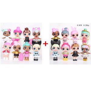 FIGURINE DE JEU 2 Lots 16pcs Figurines: Surprise LoL Poupee Premiè