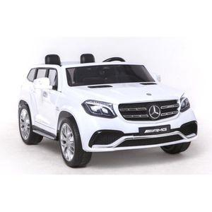 VOITURE ENFANT Véhicule électrique Mercedes - Benz GLS 63 Blanc -
