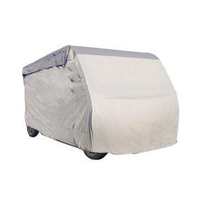 BÂCHE DE PROTECTION Housse pour Camping-Car 830 x 235 x 270 cm - Gris