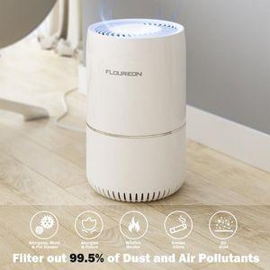 PURIFICATEUR D'AIR Floureon Purificateur d'Air avec Filtre HEPA Élimi