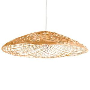 LUSTRE ET SUSPENSION SATELISE-Suspension Rotin Ø110cm naturel Forestier