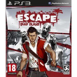 JEU PS3 Escape Dead Island Jeu PS3