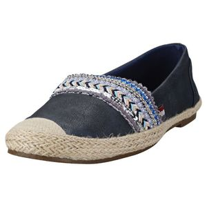 ESPADRILLE Mustang Sequins And Studded Espadrille Femmes Chau