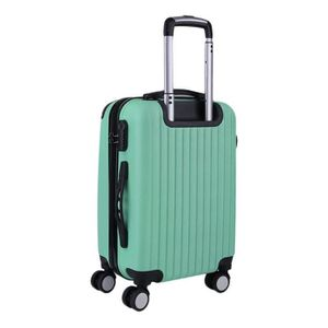 VALISE - BAGAGE Valise cabine trolley taille 4 roues 68cm 28''vert