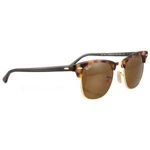 LUNETTES DE SOLEIL Ray Ban Clubmaster 3016 Ecaille Taille   49 99e2defb418a