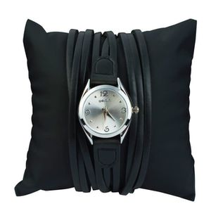 MONTRE Weiqin Ladies Water Resistant Leather Wrist Watch