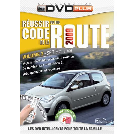 dvd r ussir votre code de la route 2009 vol 3 en dvd film pas cher cdiscount. Black Bedroom Furniture Sets. Home Design Ideas