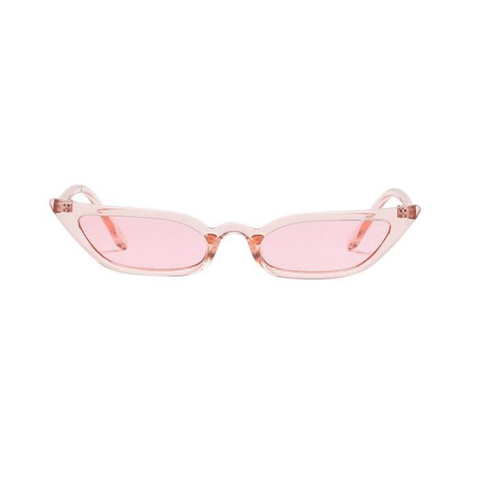 Deuxsuns®Femmes Vintage Cat Eye lunettes de soleil rétro petit cadre UV400 Eyewear Fashion Ladies@zf93