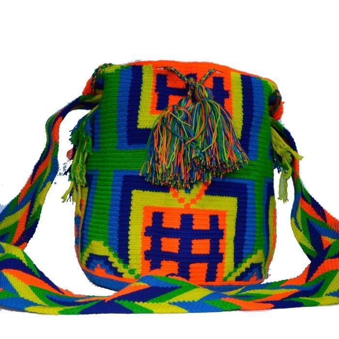 Wayuu Sac - Grand Mochila - Design - 296 ZU8YR