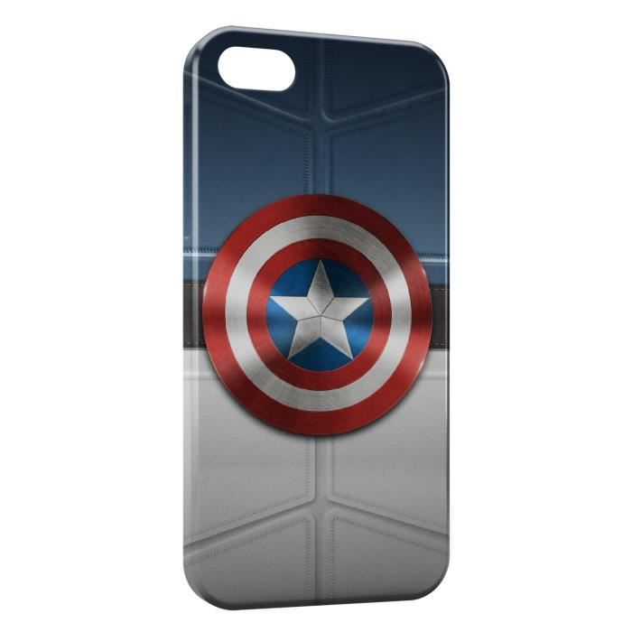 coque iphone 5 captain america