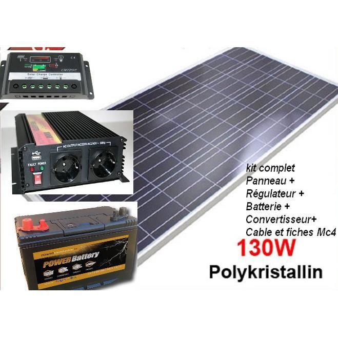 Kit solaire complet 220v achat vente kit conomie nergie kit solaire complet 220v cdiscount - Panneau solaire 220v ...