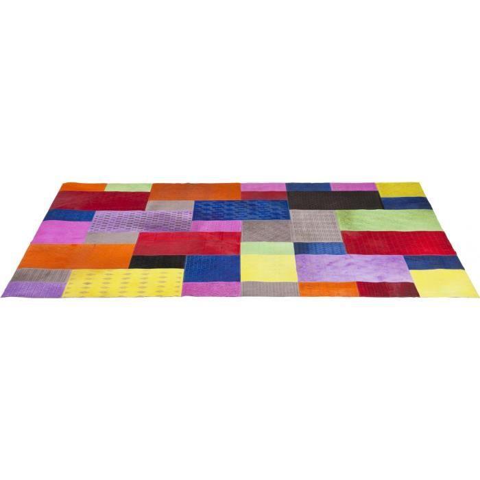 Tapis Patchwork Square Pop 170x240 Kare Design Achat Vente Tapis Cdiscount