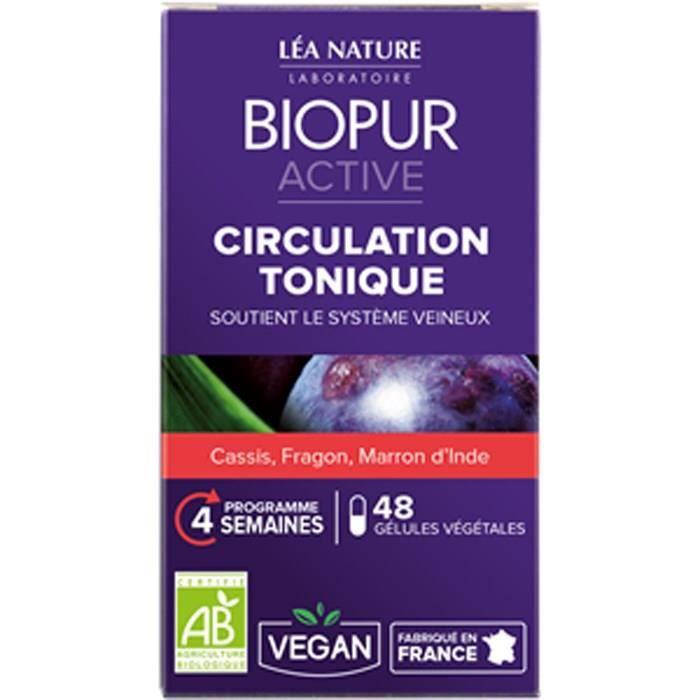 CIRCULATION SANGUINE BIOPUR Gélules végétales - Circulation tonique - 4