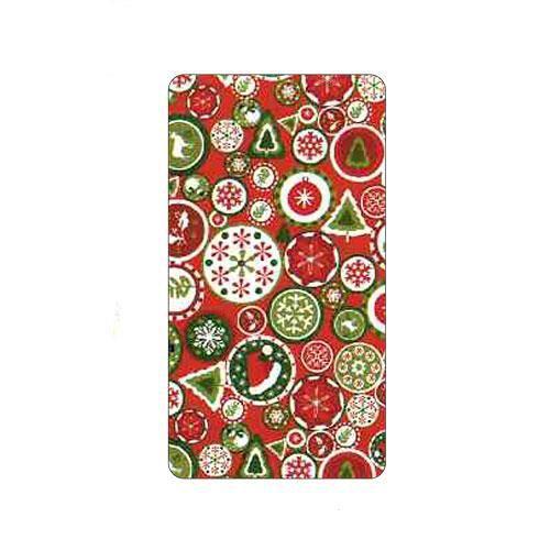 noel papier cadeau boules rouge et vert cuisine usage unique papiers cadeaux bolducs. Black Bedroom Furniture Sets. Home Design Ideas