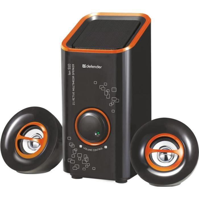 ENCEINTE NOMADE Defender 2.1 système de haut-parleurs actifs ION S