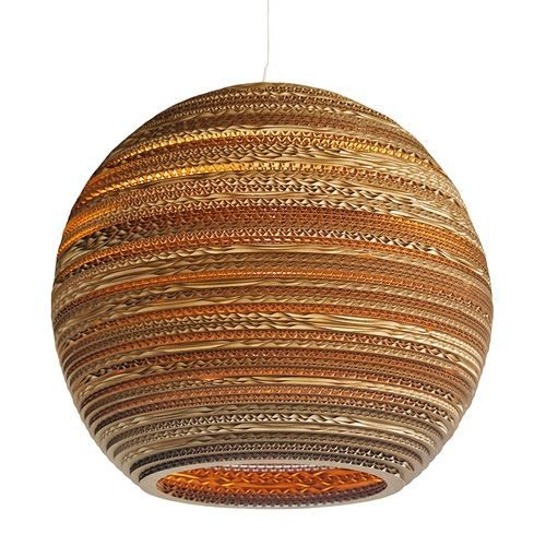 moon suspension carton 36cm achat vente lustre moon. Black Bedroom Furniture Sets. Home Design Ideas