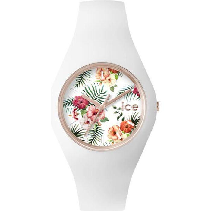 montre ice watch flower legend blanc silicone ice achat. Black Bedroom Furniture Sets. Home Design Ideas