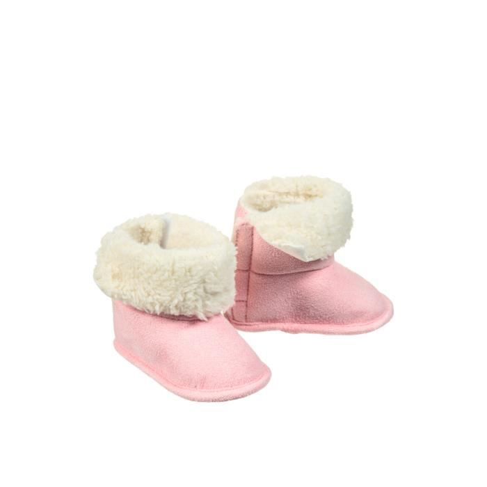 f6d6add39aaa Boots Naissance Rose Rose - Achat / Vente bottine - Cdiscount