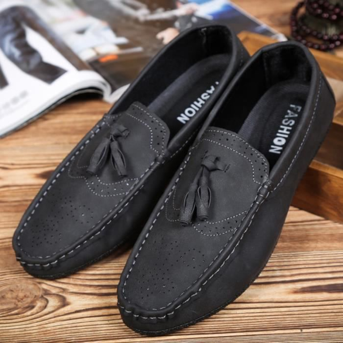 Mode homme respirant Mocassins