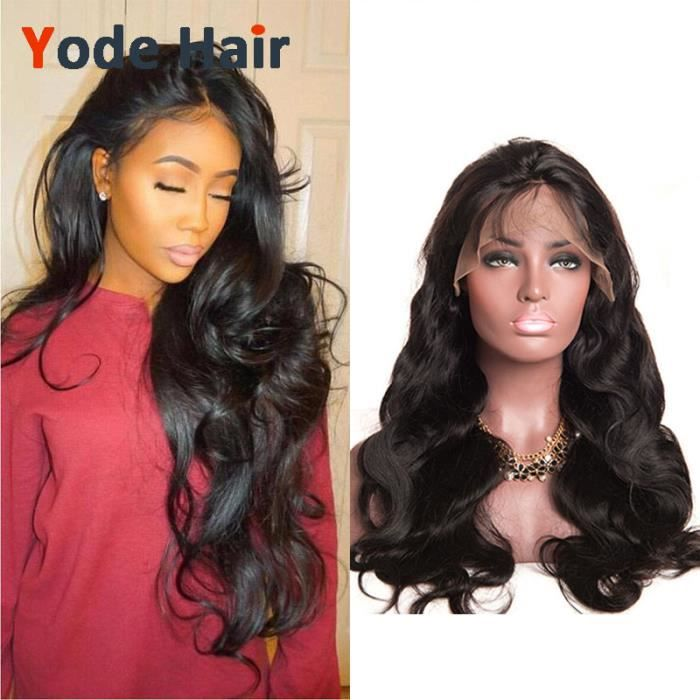 Lace front wig/Perruque body wave cheveux