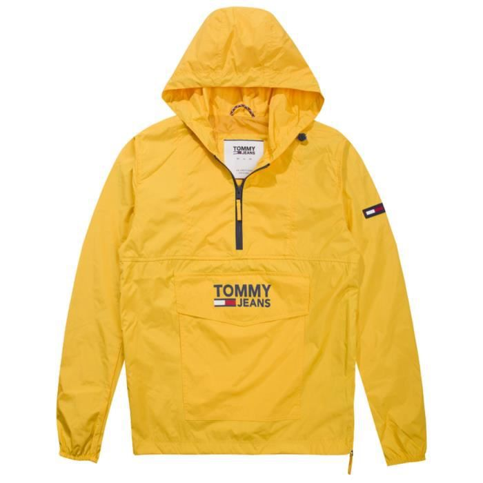 72705e3dd1 Imperméable - Trench TOMMY HILFIGER Pop Over Anorak Coupe Vent Homme -