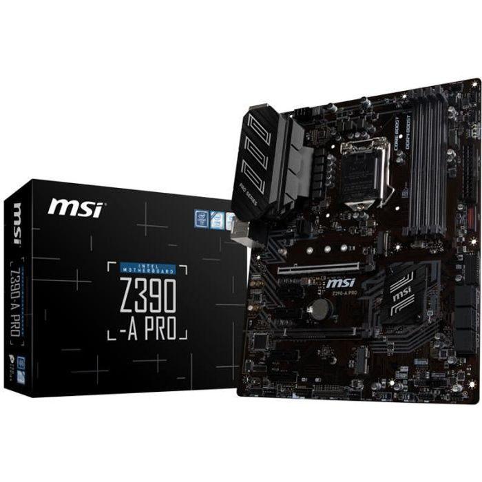 CARTE MÈRE Carte mere MSI Z390-A Pro, Intel Z390 - Sockel 115