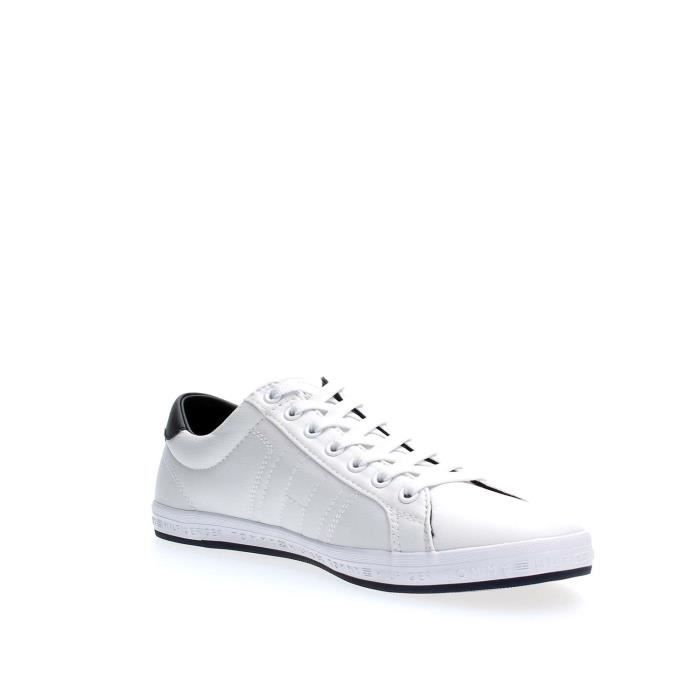 TOMMY HILFIGER SNEAKERS Homme WHITE, 44