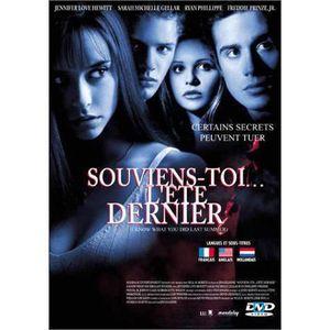 DVD FILM DVD Souviens-toi... l'été dernier