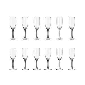 Coupe à Champagne LIBBEY CLARET Lot de 12 flûtes à champagne 17 cl t