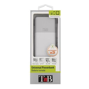 TNB Batterie externe de secours universelle 4400mA